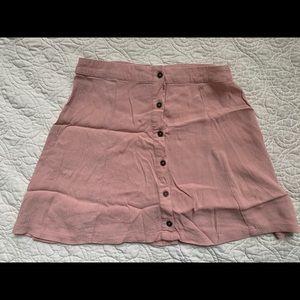 Forever 21 Blush Pink Mini Skirt